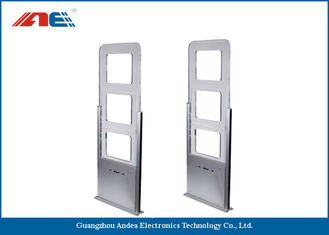 EAS / AFI Alarm RFID Gate Reader For Library Entrance System Aisle Width 90CM
